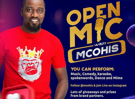 Open Mic with Mc Ohis (@Mcohis) Live on Instagram