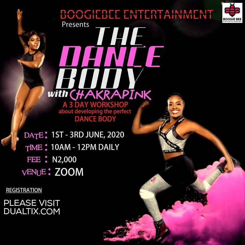 The Dance Body With Chakrapink
