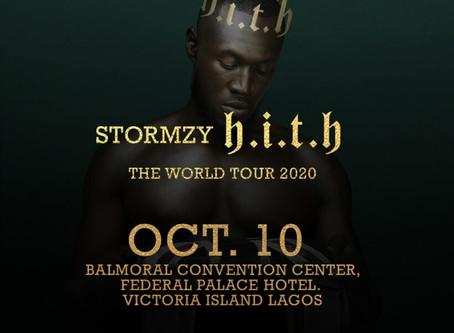 Stormzy Storms Lagos