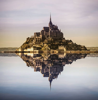 mont-saint-michel-with-photoshopped-refl