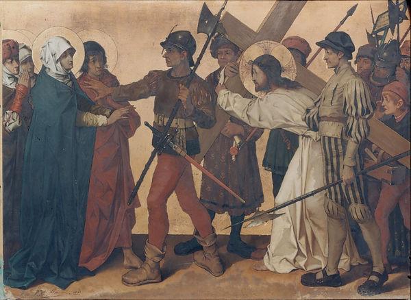 Theophile_Lybaert_-_Jesus_meets_His_Moth