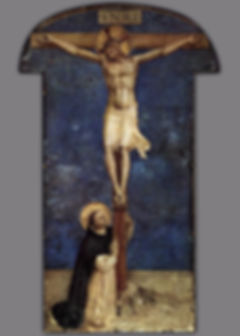 Fra_Angelico_-_Saint_Dominic_Adoring_the