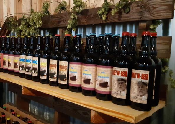 Toute une gamme de bières