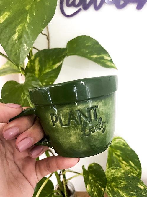 Terracota pot mug