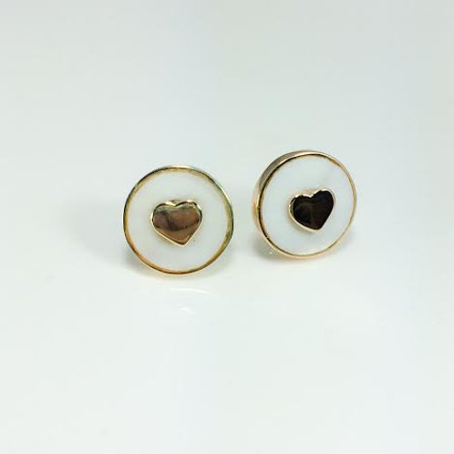 Hearts with Mother of Pearl