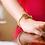 Thumbnail: Duo or Single Monogram Bracelet