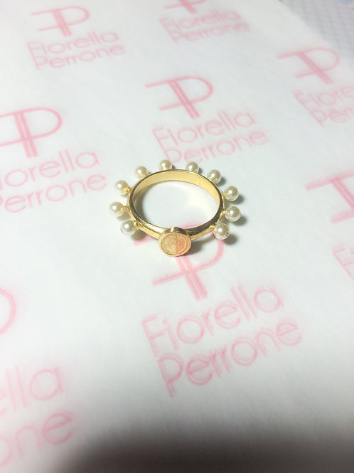 Our Lady Rosary Ring