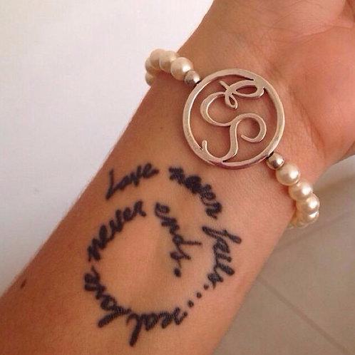 Duo or Single Monogram Bracelet
