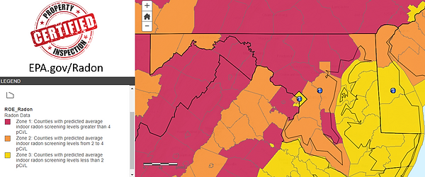 Radon EPA Map.png