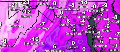 How cold will it get tonight?