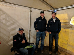 A few of the guys representing Team USA at the FEI World Reining Championships