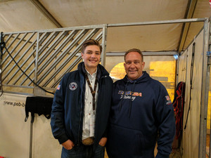 Sam & Shawn at the FEI World Reining Championships