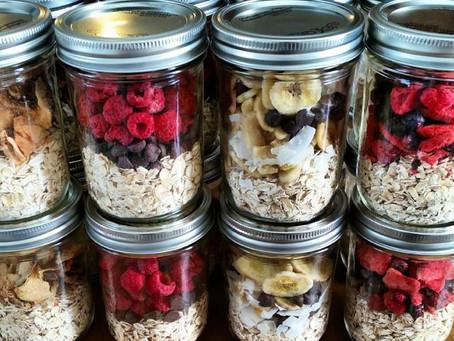 Mason Jar Meals - Breakfast