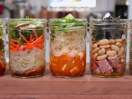 Mason Jar Meals - Lunch & Dinner