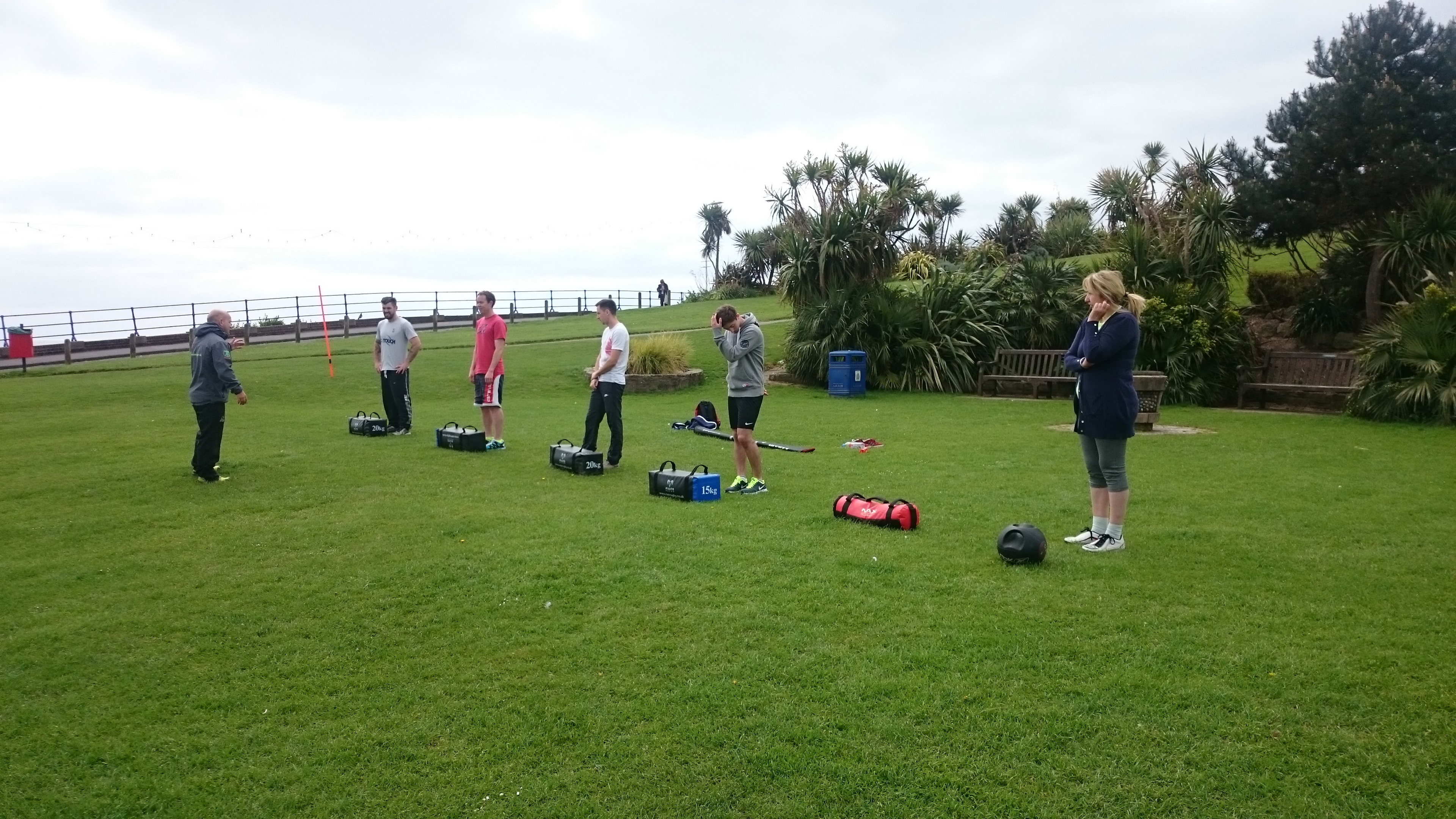 Fun Bootcamp classes Eastbourne