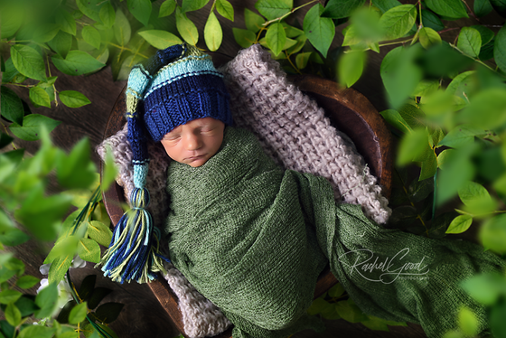 Lukas' goodness newborn session