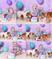 Mermaid Cake Smash with Paisley & her fur siblings