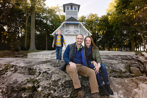 Marblehead Lighthouse Family Session