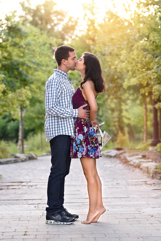 Daniela and Dan's Coe Lake Couples session with RGP