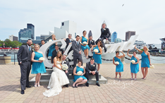 cleveland sign wedding images