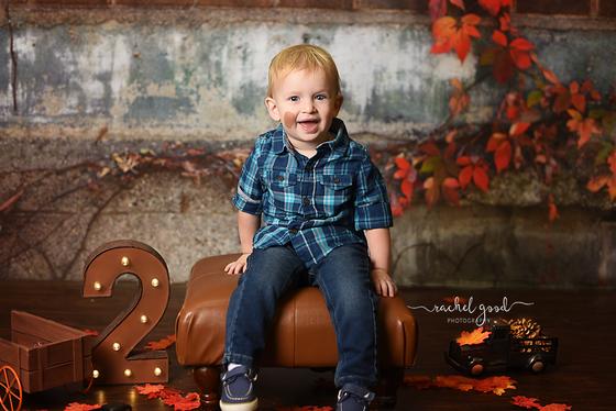 Jackson turns 2! South Euclid Child Photographer