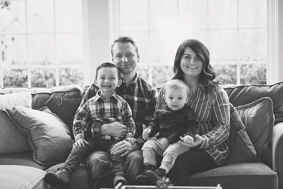 Chardon Family Session with the Bloom's
