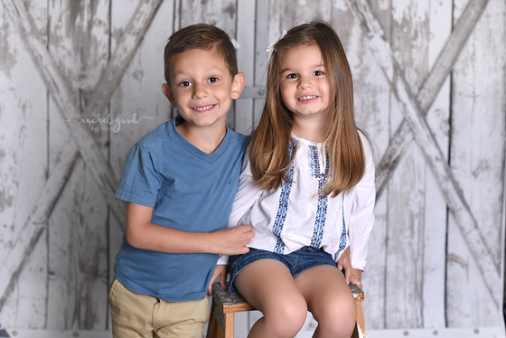 Alex and Maddie. Sibling Session.