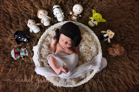 starwars newborn photos