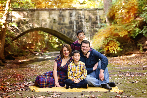 the Dubinsky Family Olmsted Falls, Family Session
