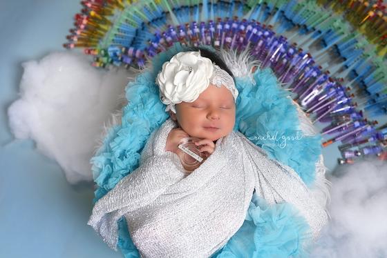 Isla. Cleveland Newborn Photographer {rainbow baby}