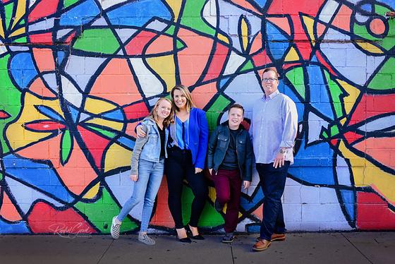 the Mahoney Family, Ohio City Family Session