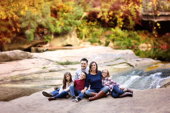 Back Family. Olmsted Falls, OH Family Photographer