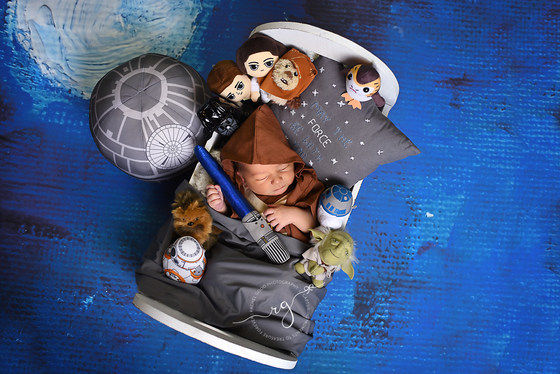 Galen. Star Wars themed goodness newborn session.