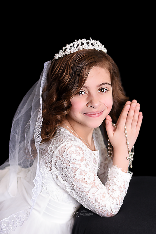 First Communion photo sessions are booking now.