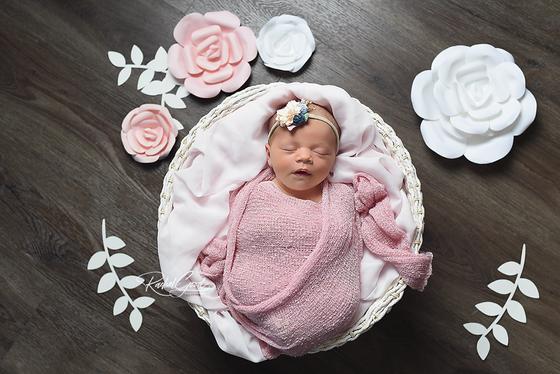 Meet Hannah. Short & Sweet newborn session
