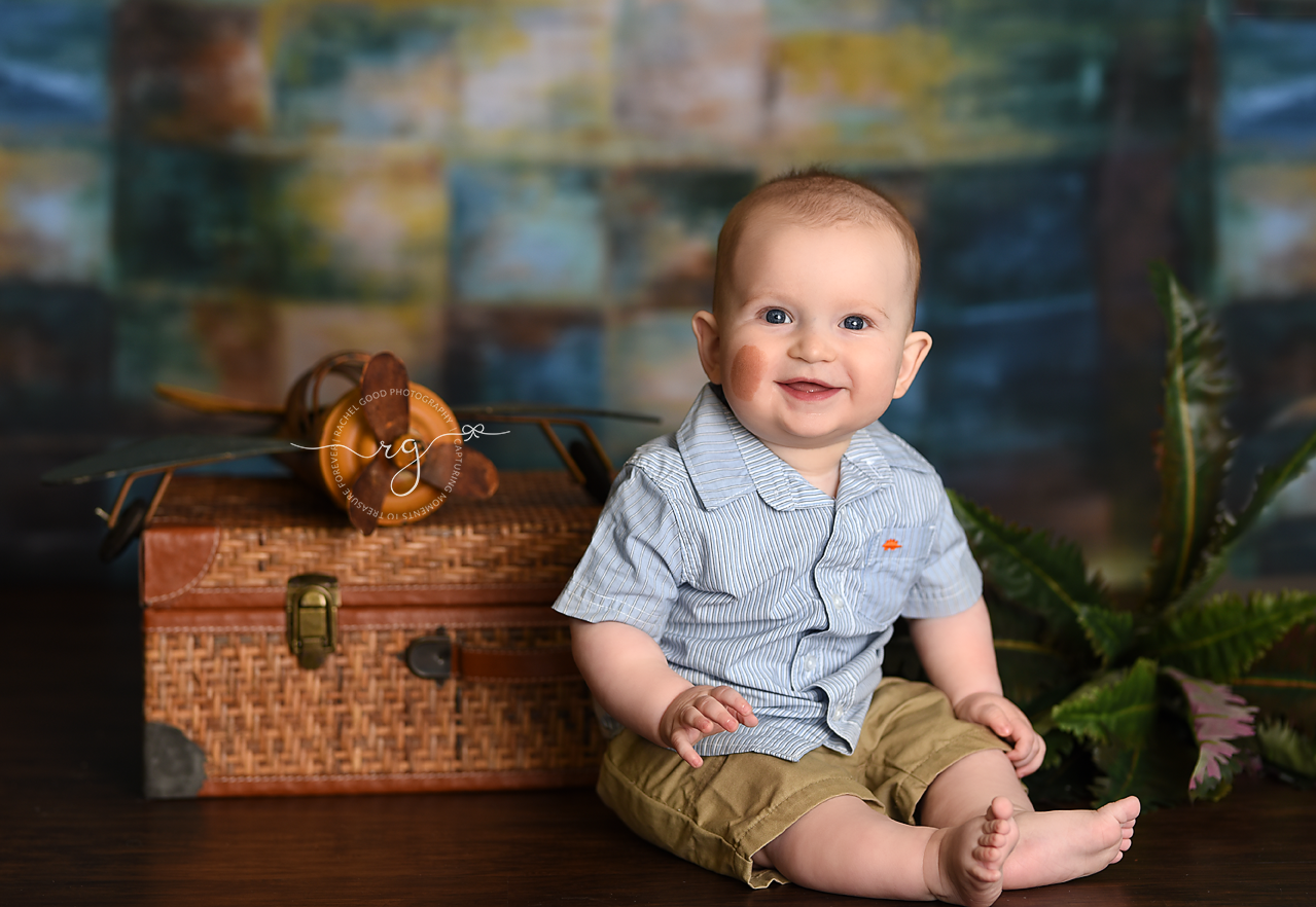 8 month photography