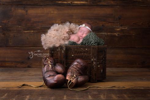 boxing gloves newborn