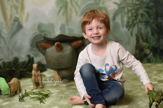 Bennett's turning four. Milestone Photography