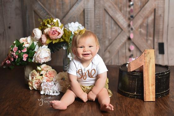 Emma turns ONE, Cleveland Baby Photographer