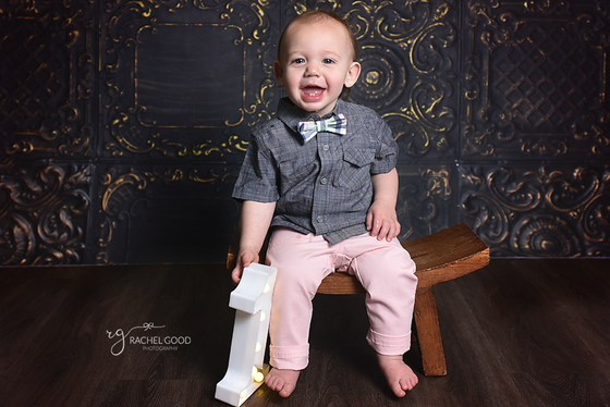 North Ridgeville Baby Photographer, Gavin turns ONE
