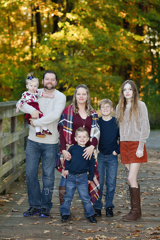 Metroparks Fall Session with the Campbell Family