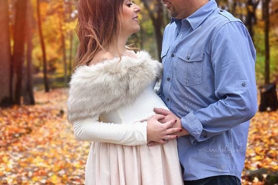 Aurbun's Coe Lake Maternity session