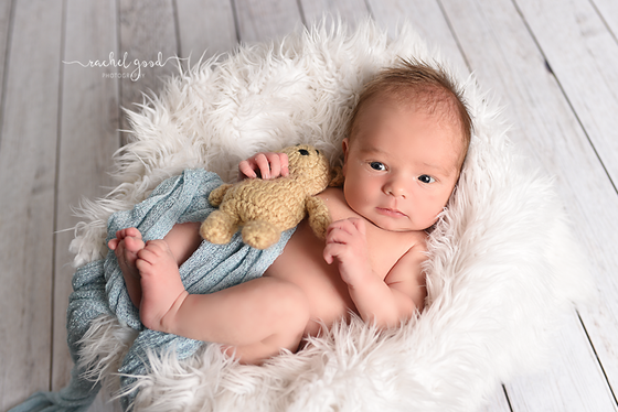 Short & Sweet newborn session with Carson.