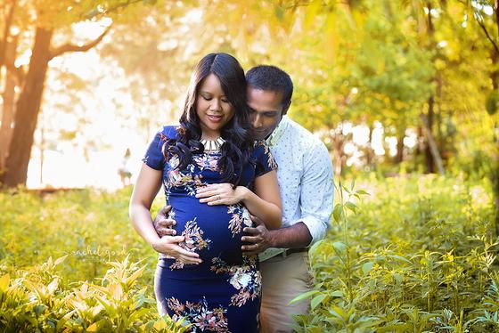 Chloe's maternity session | Coe Lake, Berea, OH
