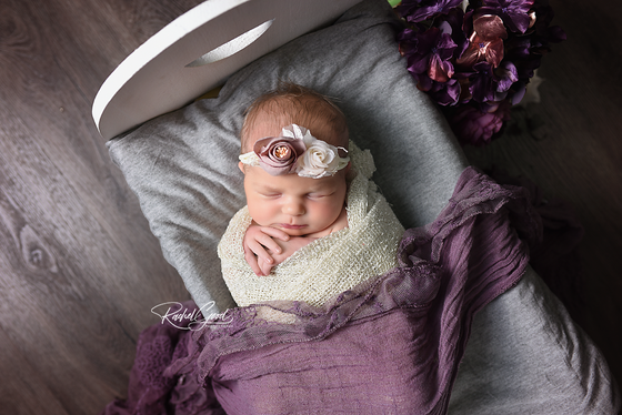 welcoming miss Kinley. Goodness newborn session