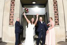 columbia station, whitehall wedding