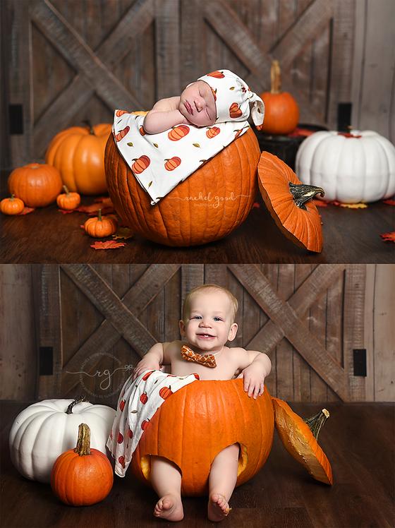 Pumpkin Baby Boy, Drew turns one!