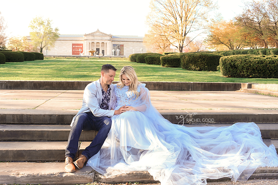 Cleveland Museum of Art | Amanda's Maternity session with Family