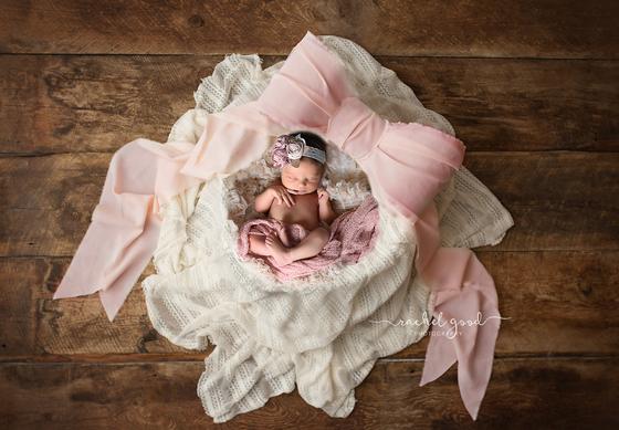 Sweet Newborn. Finley.