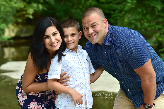Elias' milestone session | Family shoot in Olmsted Falls, OH